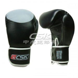 """Боксерские перчатки """"CSK"""" 16oz Натуральная кожа"""