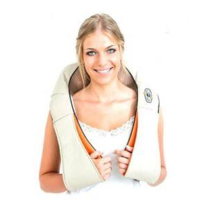 Роликовый массажер для шеи