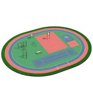 Спортивный комплекс 001