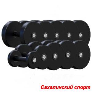Гантельный ряд 2,5-25 кг