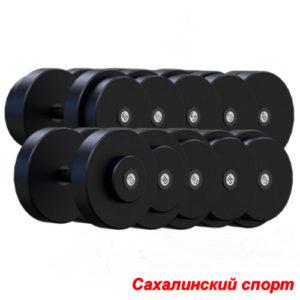 Гантельный ряд 27,5-50 кг