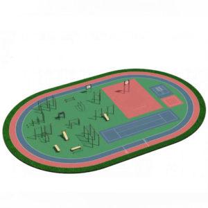 Спортивная площадка ГТО